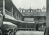 Old Tabard Inn, the Courtyard