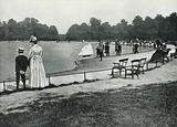 Kensington Gardens, the Round Pond