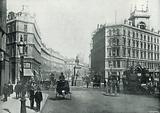 Holborn Circus, looking down Holborn Viaduct