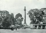 Duke of York's Column, from the Mall: Carlton House Terrace on Both Sides