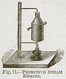 Primitive Steam Engine