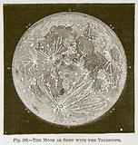 The Moon as seen with the Telescope
