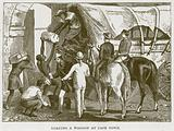 Loading a Waggon at Cape Town
