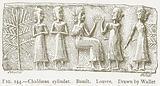 Chaldaean Cylinder. Basalt. Louvre