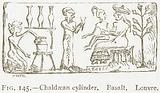 Chaldaean Cylinder. Basalt. Louvre.
