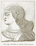 Head of a Eunuch; from Layard