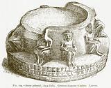 Stone Pedestal; from Tello