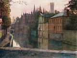 View of the Palais du Franc, Bruges