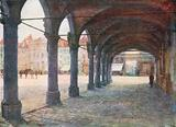 Arcade under the Nieuwerk, Ypres