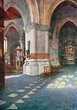 Interior of Church, Nieuport