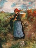 A Peasant Woman of the Ardennes
