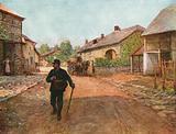 La Gleiza, a Village in the Ardennes