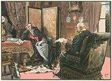 Bei Kaiser Friedrich 1888