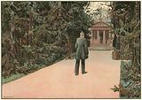 Der letzte Gang zu geweihter Statte 1890