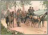 Begegnung mit Kaiser Napoleon am Morgen des 2. September 1870.