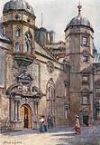 Quadrangle of George Heriot's Hospital