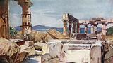 The Temple of Athena on the Island of Aegina