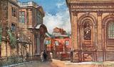 The Old Ashmolean Museum and Sheldonian Theatre