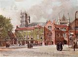 Westminster Abbey, from Westminster School