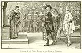 Charles I and Prince Rupert in the House of Commons