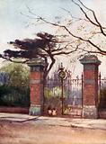 Entrance to the Apothecaries' Garden