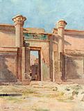 The Ptolemaic Pylon, Medinet Habu
