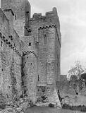 Outer Gatehouse and Curtain-Wall Rising from the Moat