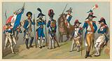 France XVIIIth Cent Costume