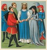 Europe Middle Ages Costume