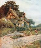 A Cheshire Cottage, Alderley Edge