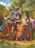 Valentine, Proteus, Silvia and Julia