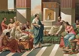 Banquet given by the Seven Sages of Greece