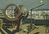 Hipparchus in the observatory in Alexandria