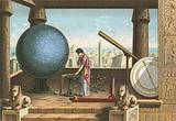 Ptolemy in the observatory in Alexandria
