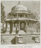 Cenotaph of Singram Sing at Oudeypore