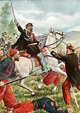 Victor Emanuel at the battle of Solferino