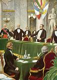 Cavour at the Paris Congress, 1856