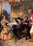 Katharina and Petruchio