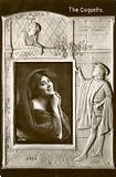 Glamour postcard