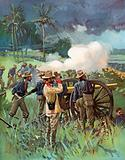 Field Artillery in Action