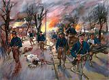The Ammunition-Train and Reserves of the Twentieth Kansas Volunteers, Colonel Frederick Funston …