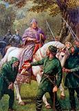 """Robin Hood meets the Bishop of Hereford"""