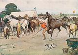 """A Horse Fair . . . """"There was a Great Deal of Bargaining, Running Up, and Beating Down"""""""