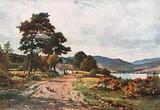 A Croft near Taynulit, Loch Etive, Argyllshire