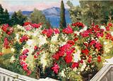 The Rose Pergola, the Achilleion, Corfu