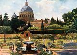 The Sunk Garden, The Vatican, Rome