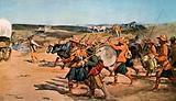 Over the Veldt. Drums and Pipes of the 91st (Argyllshire) Highlanders