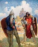 """""""I am Sir Launcelot du Lake, King Ban's Son of Benwick, and Knight of the Round Table"""""""