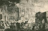 The Destruction of Pompei Before the Temple of Fortune