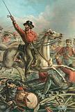 Garibaldi Captures four French Guns at Rome